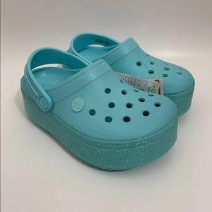 Crocs crocband platforms